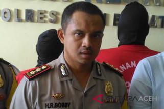 Polisi amankan perusak hutan lindung di Aceh Barat