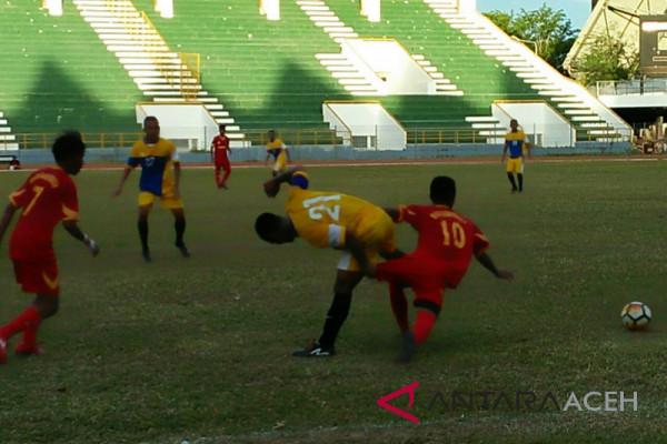 Aceh dan Pupua ke semi final Kejurnas PPLP