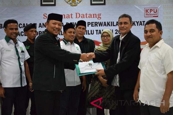 PKB Aceh daftarkan 42 persen caleg perempuan