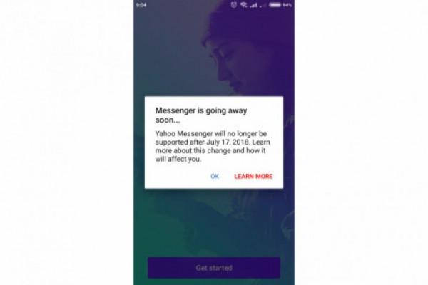 Yahoo Messenger ditutup mulai hari ini
