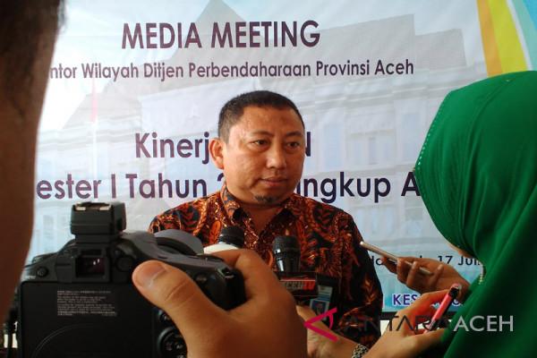 Pendapatan negara di Aceh Rp1,845 triliun