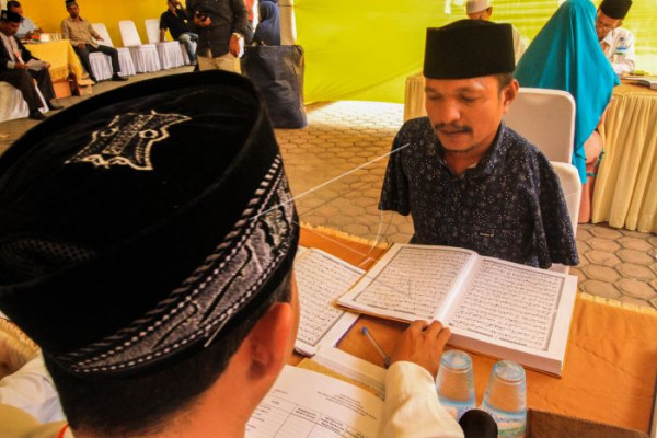 23 bacaleg Lhokseumawe gagal baca Al Quran