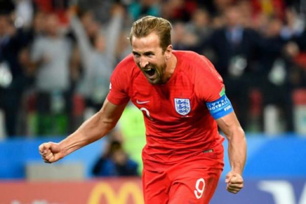 Harry Kane sabet Sepatu Emas Piala Dunia 2018