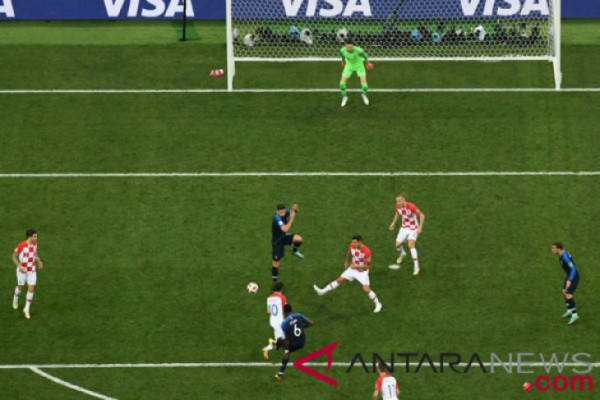 Kalahkan Kroasia 4-2, Prancis juarai Piala Dunia 2018