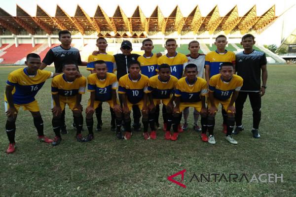 Aceh juara grup kejurnas sepak bola PPLP