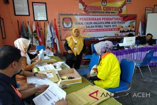 Delapan parpol daftar caleg di KIP Aceh Tengah