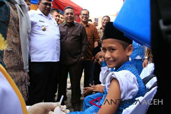 Pemkab Aceh Utara ajak sukseskan imunisasi MR