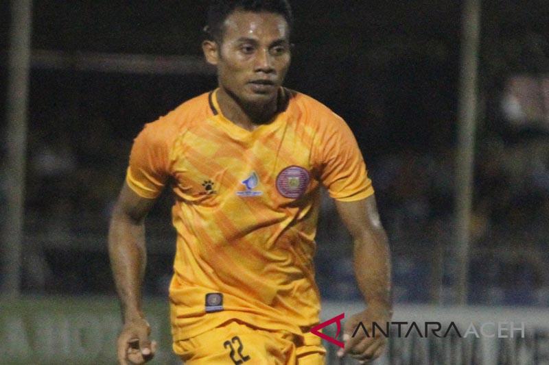 Striker Persiraja Andre ingin lebaran di Aceh