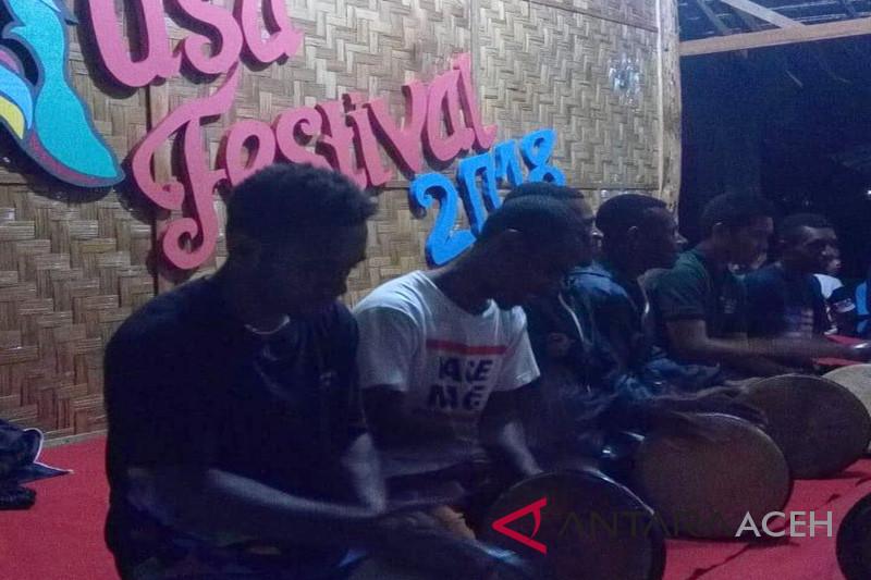 Siswa SMN Papua belajar rapai