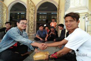Pemuda Singkil kumpulkan donasi untuk korban gempa Lombok