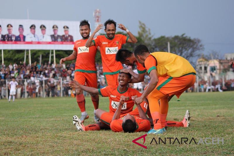 Aceh United kalahkan Persita di Cot Gapu