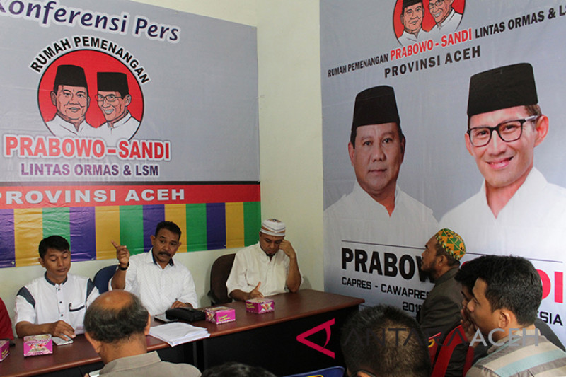 Deklarasi tim pemenangan Prabowo-Sandi