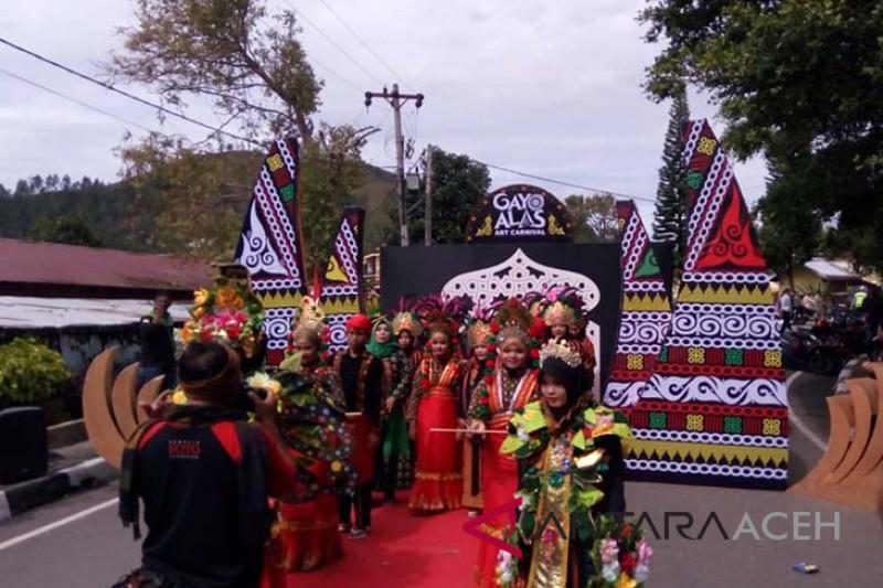 Kostum kopi warnai pawai budaya GAMIfest 2018