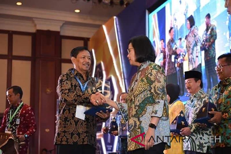 Menkeu anugerahi penghargaan WTP-LKPD untuk Sabang