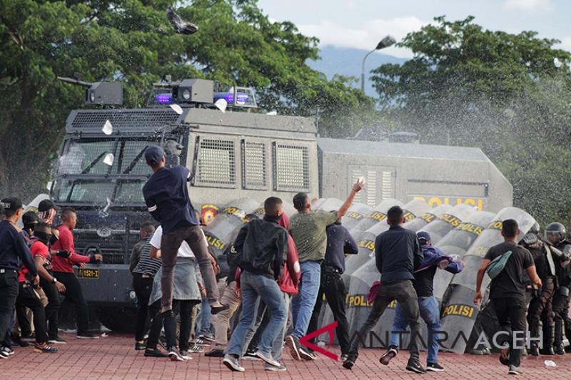 Simulasi pengamanan pilpres di Aceh