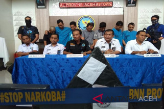 BNN Aceh: manajer kantor pos terlibat pengiriman ganja