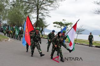 Tiga KRI meriahkan HUT TNI ke-73 di Sabang