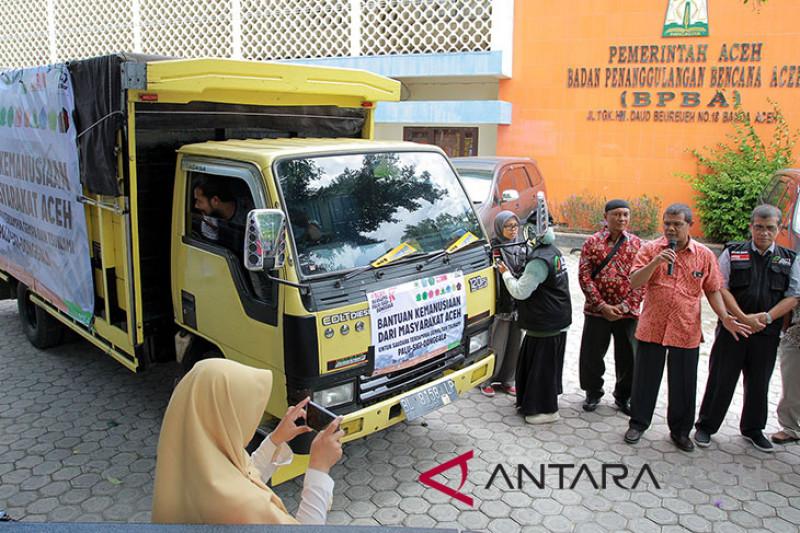 Aceh berangkatkan bantuan untuk Palu