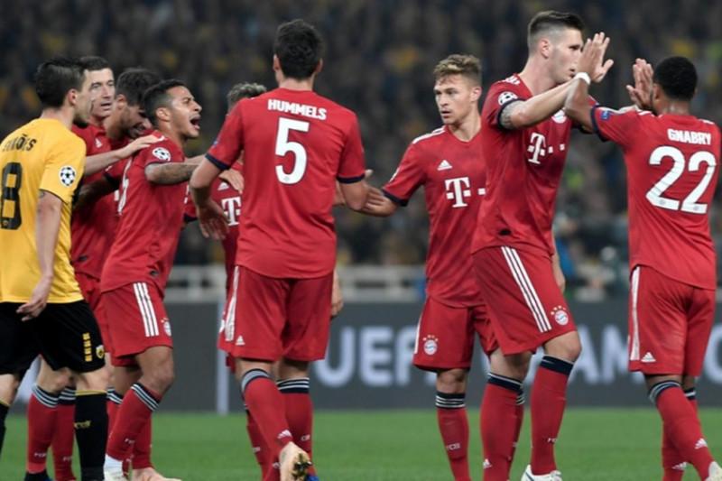 Bayern menang atas AEK 2-0