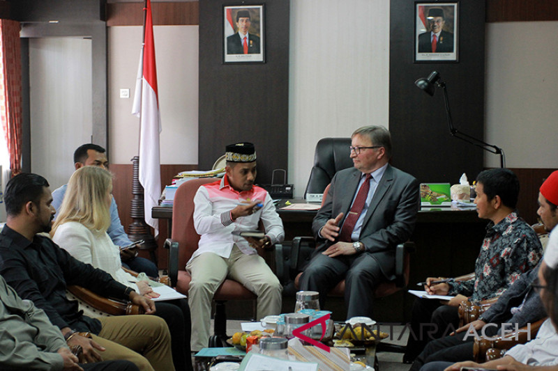 CMI Finlandia pantau perdamaian Aceh