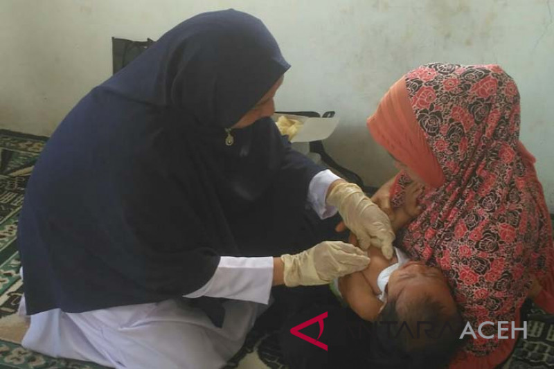 Aceh Barat sasar 1.500 anak untuk imunisasi