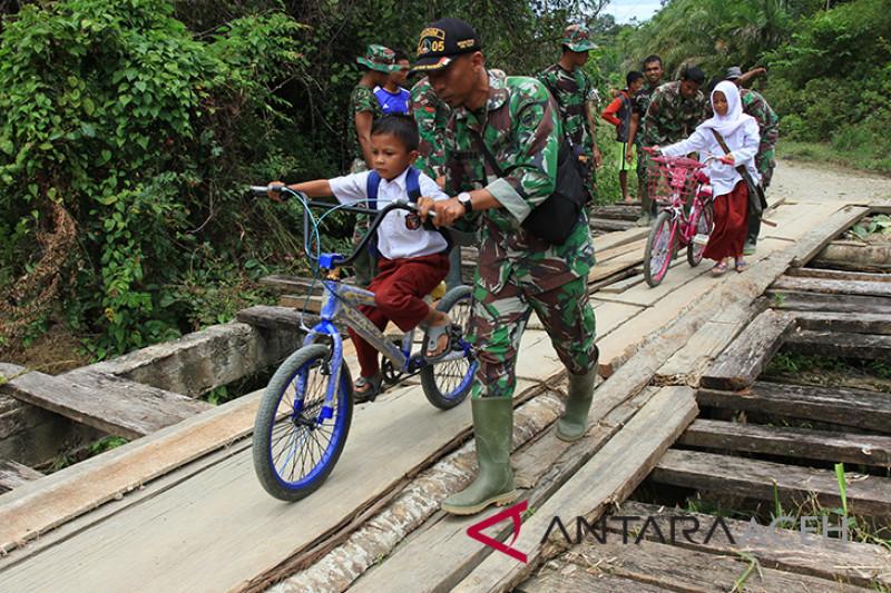 Kegiatan TMMD Aceh Barat
