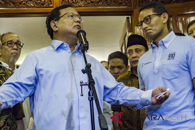 Seknas: permintaan panggilan Prabowo salah alamat
