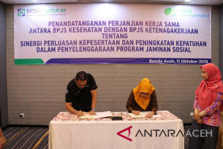 BPJS Ketenagakerjaan-Kesehatan perluas kepesertaan di Aceh