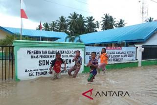 Banjir di Aceh Jaya lumpuhkan aktivitas pendidikan