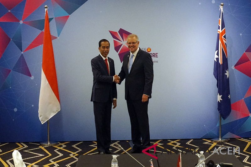 Jokowi - Morrison bahas kerjasama