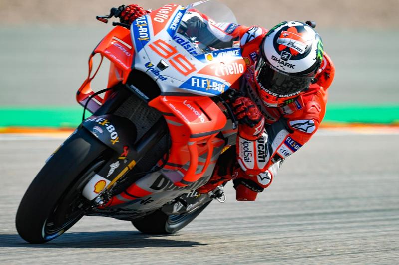 Ini pesan perpisahan Lorenzo buat Ducati
