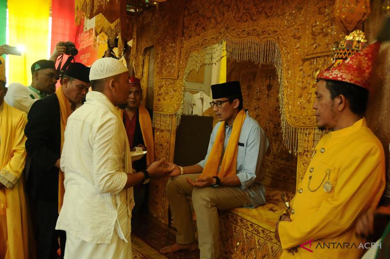 Pewaris Raja Aceh dukung Sandiaga Uno