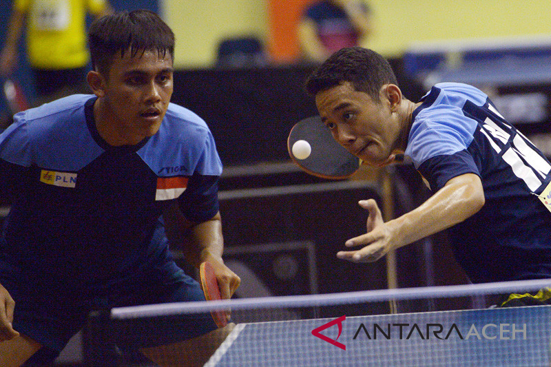 "Singapura juara umum ""Seatta Table Tennis Championships"""