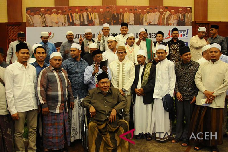 Ulama Aceh dukung Sandiaga Uno