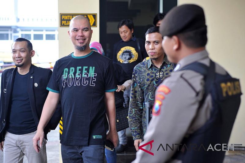 Ahmad Dhani datangi Polrestabes Surabaya terkait persekusi