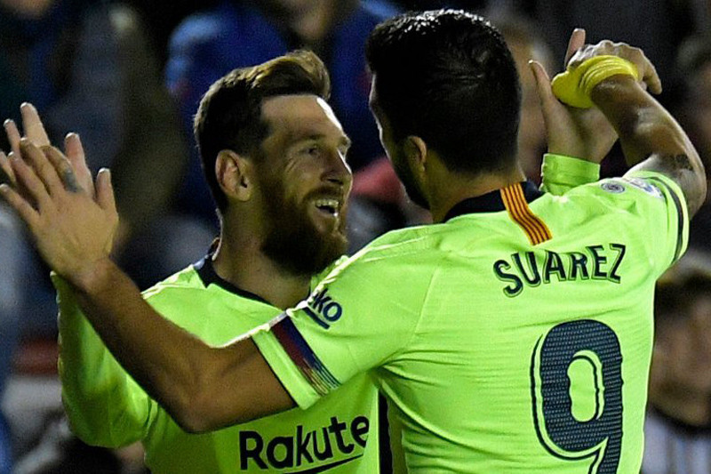 Messi kemas trigol saat Barcelona gasak Levante 5-0
