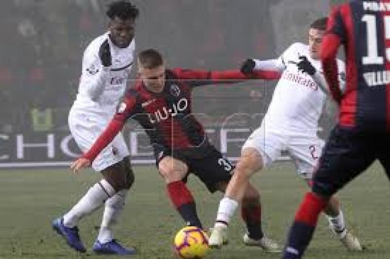 Milan hanya raih satu poin di Bologna