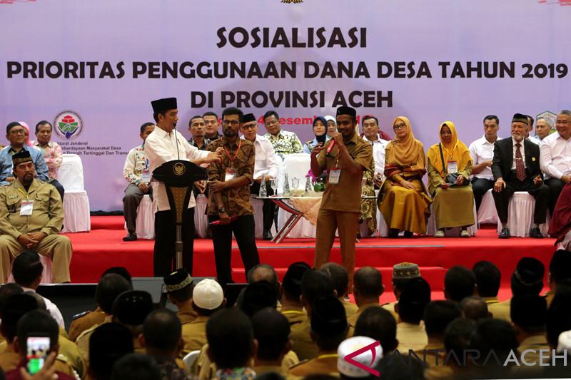 """Presiden puji cara """"keuchik"""" berdayakan ekonomi di Aceh"""