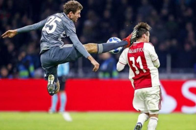 Muechen amankan puncak klasemen grup E Liga Champions
