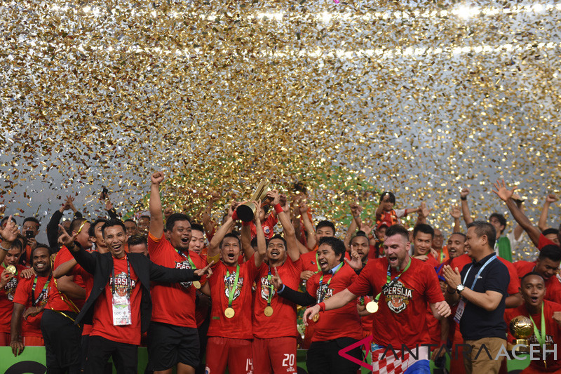 Persija juara Liga 1 Indonesia