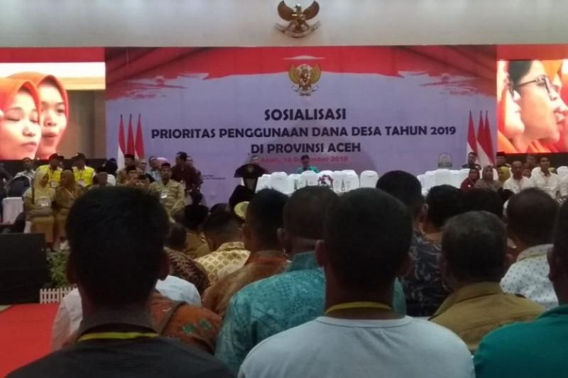 Ini kegiatan Presiden Jokowi di gedung AAC Dayan Dawod Unsyiah
