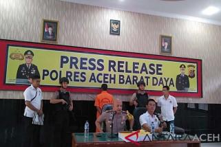 Polres Abdya tahan kontraktor proyek Jetty Rubek Meupayong