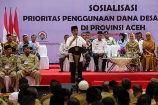 Presiden janji kucurkan dana desa Rp70 triliun