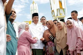 Jokowi promsies to increase village fund in 2019
