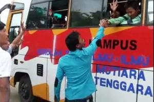 Seorang ABK Myanmar Menangis Minta Segera Dipulangkan