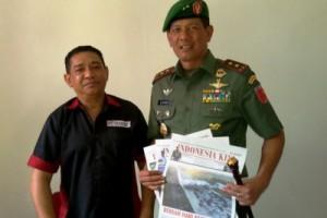 Pangdam XVI/Pattimura Kunjungi Antara Maluku