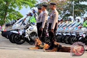 Polda Maluku Gelar Pasukan Operasi Lonceng Siwalima