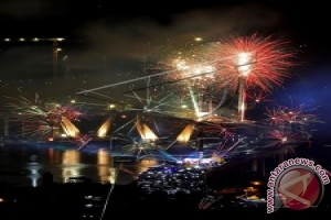 Perayaan Tahun Baru Difokuskan di Empat Lokasi