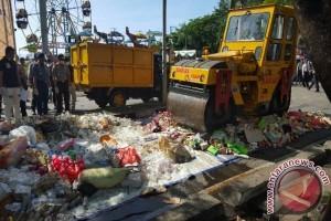 Polda Maluku Utara Musnahkan Ribuan Liter Miras