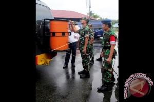 Personel Gabungan Amankan Bandara Pattimura